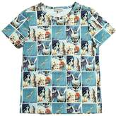 Paul Smith Space Printed Cotton Jersey T-Shirt