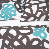 Area Flow King Sham Turquoise