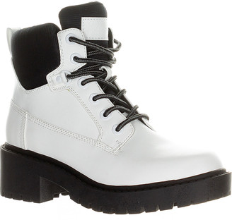 KENDALL + KYLIE Women's Casual boots WHITE - White Weston Combat Boot - Women