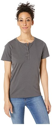 Filson Whidbey Henley (Dark Gray) Women's Clothing