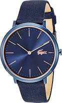 Lacoste Women's 'MOON ULTRA SLIM' Quartz Stainless Steel and Nylon Casual Watch