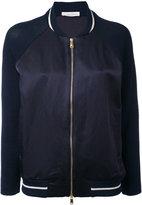Zanone bomber jacket - women - Cotton/Linen/Flax/Viscose - S
