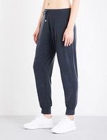 Monreal London Boyfriend-fit stretch-jersey jogging bottoms