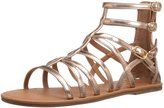 Nina Pandora Back Zip Sandal (Little Kid/Big Kid)