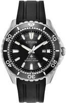 Citizen Eco-Drive Men's Promaster Diver Black Polyurethane Strap Watch 44mm