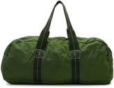 Comme des Garcons Green Nylon Duffle Bag