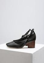 Zero Maria Cornejo Black Sienna Lace Up Heel