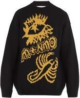 Stella McCartney Scorpion-intarsia wool sweater