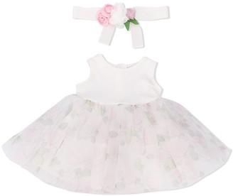 MonnaLisa Mesh Skirt Dress
