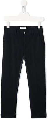 Paolo Pecora Kids tuxedo style trousers