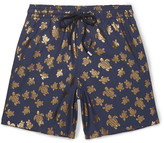 Vilebrequin - Moorea Mid-length Metallic-print Swim Shorts