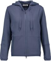 adidas by Stella McCartney Cotton-blend hooded sweatshirt
