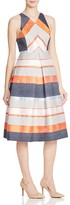 Whistles Striped Jacquard Dress - 100% Exclusive