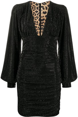 Philipp Plein Daphne stud embellished dress