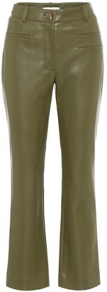 REJINA PYO Finley high-rise faux-leather pants