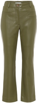 REJINA PYO Finley high-rise faux-leather pants