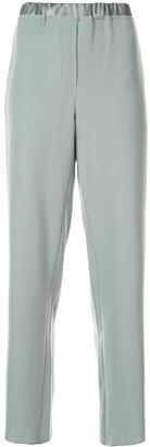 Emporio Armani Classic Wide-Leg Trousers