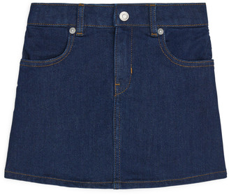 Arket Denim Stretch Skirt