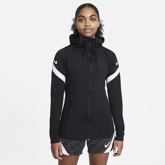 Nike Women's Full-Zip Hooded Soccer Jacket Dri-FIT Strike