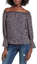 WAYF Women's Off The Shoulder Blouse