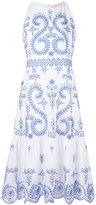 Tory Burch floral print dress - women - Cotton - 10