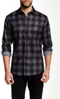 James Tattersall Large Box Long Sleeve Regular Fit Shirt