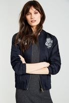 Jack Wills Dalkieth Embroidered Bomber