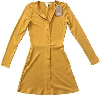 Reformation Yellow Cotton Dresses