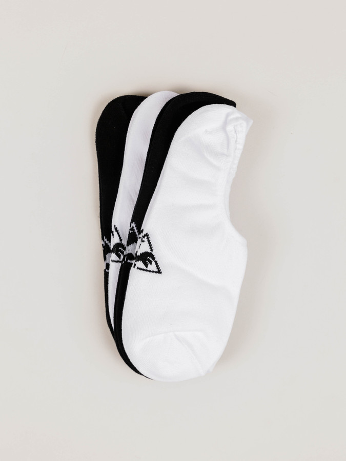 Le Coq Sportif Plainer Socks in White Black