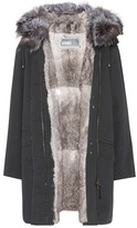 Yves Salomon - Army Fur-trimmed parka coat