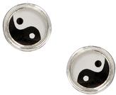 Asos Ying Yang Stud Earrings - Multi