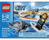 Lego City Surfer Rescue 60011