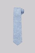 Moss Bros Sky Rose Skinny Tie