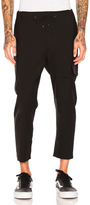 Oamc Cropped Utility Pants in Black.