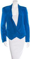 Rebecca Minkoff Silk Shawl Collar Blazer