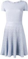 Dior - textured flared dress - women