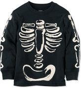 Carter's Skeleton Graphic-Print Cotton Shirt, Toddler Boys (2T-4T)