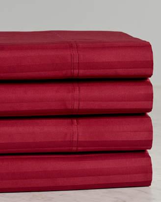 Superior 650Tc 100% Egyptian Cotton Striped Sheet Set