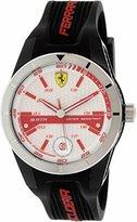 Ferrari Men's Red Rev 0830250 Red Stainless-Steel Quartz Watch