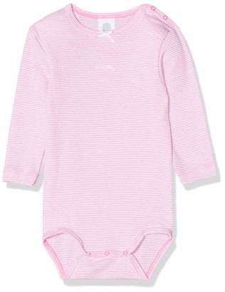 Sanetta Baby Girls' Body 1/1 Stripe Bodysuit