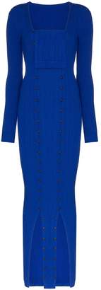 Jacquemus La Robe Maille knitted maxi-dress