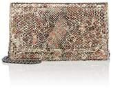 Baraboux Women's Sabrina Python Chain Wallet