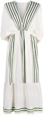 Lemlem Eshe plunge neck dress