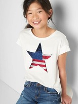 Gap Flippy sequin graphic tee