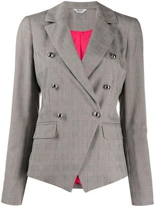 Liu Jo checked print blazer
