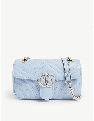 Gucci GG Marmont mini leather shoulder bag