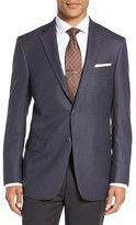 Hart Schaffner Marx Men's Classic Fit Houndstooth Wool Sport Coat