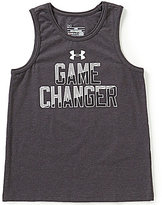 Under Armour Big Boys 8-20 Game Changer Graphic Tank