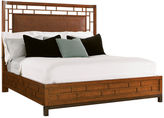 One Kings Lane Mocha Paradise Point Rattan Bed, King