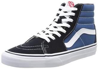 Vans SK8-Hi Classic Unisex-Adults Hi Top Lace-up Sneaker, Blue (Navy/White), 12 UK ()